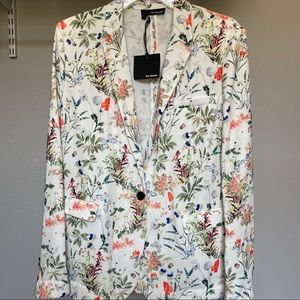The Kooples Floral Blazer/Jacket